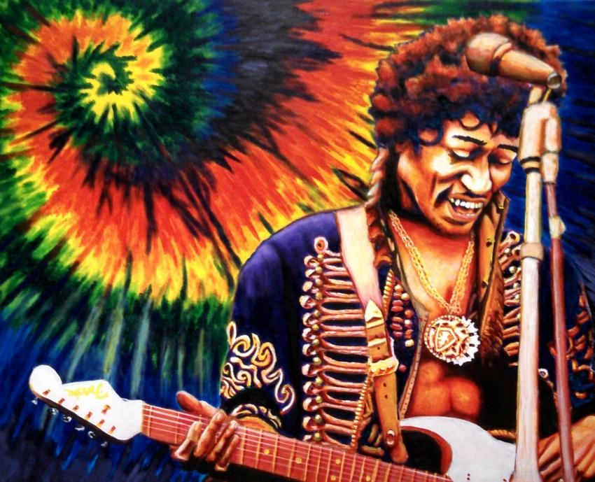 Jimi Hendrix par ZombieAshley7